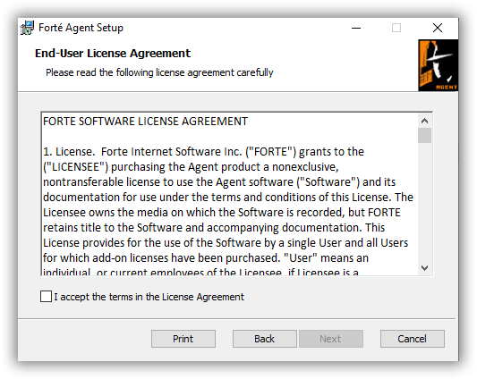 Forteagent Newsreader License2